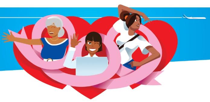 À cette occasion, les clients d'Air Caraïbes se verront offrir un bracelet brésilien rose dès leur embarquement à bord. Les personnels navigants de la compagnie porteront des foulards, cravates, galons et masques chirurgicaux de couleur rose - DR