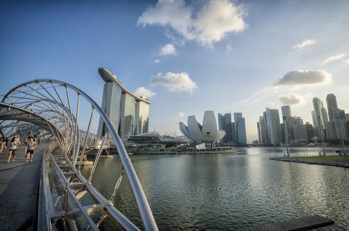 Marina Bay-Singapour