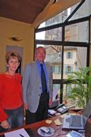Pierre Spirito, directeur SELO et CDT, Brigitte Donnadieu attachée de presse