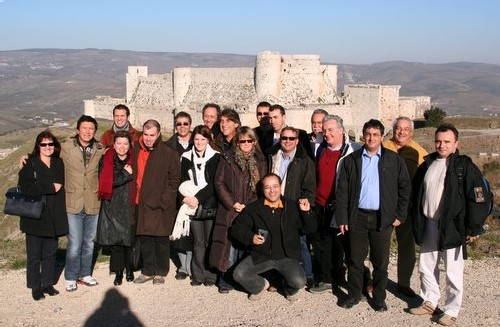 Une partie de la délégation Challenge Tourisme pose pour la postérité