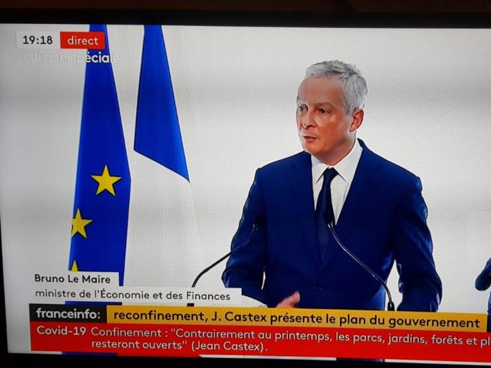 Bruno Le Maire a annoncé plusieurs mesures d'aides - DR