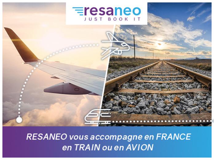 Voyage en France : Avec Resaneo, Réservez train et avion sur un même site
