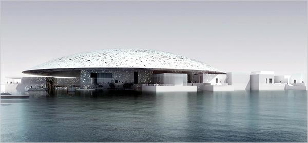 Le Louvre Abu Dhabi concçu par Jean Nouvel - DR