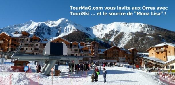 TouriSki tout schuss ce week end aux Orres avec TourMaG.com et April International !