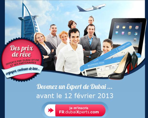 Challenge organisé par le Dubai-Department of Tourism and Commerce Marketing pour les agences AS Voyages. - DR