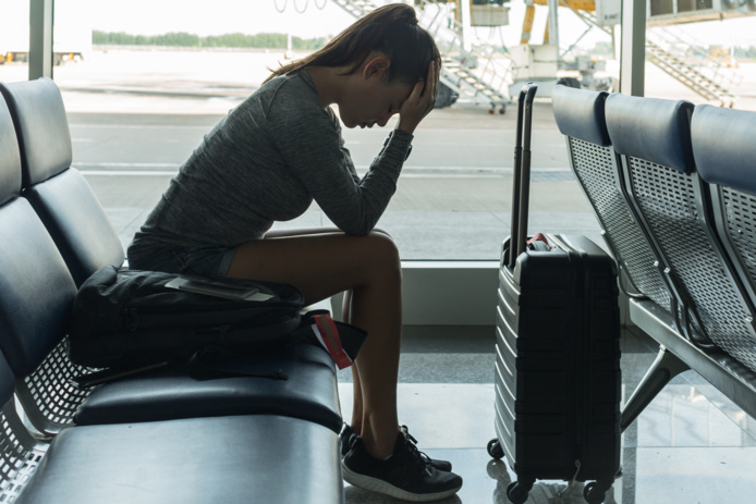 Il y a fort à parier dans le contexte actuel que les transporteurs aériens ne seront pas les derniers à plier boutique et à planter sur le tarmac les malheureux passagers qui leur ont fait confiance... /crédit DepositPhoto