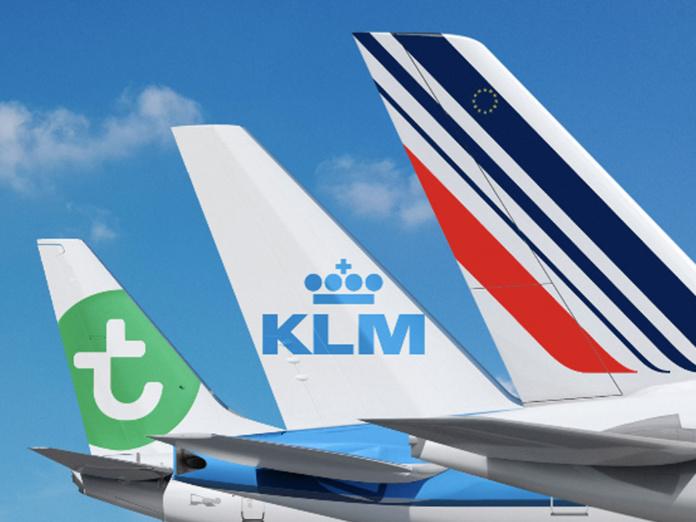 Alors que la compagnie tricolore continue de perdre une dizaine de millions d'euros chaque jour, et que la situation financière et sociale de KLM s'envenime, la ritournelle d'une scission du groupe puis d'une nationalisation par l'Etat revient inlassablement - © DR AF