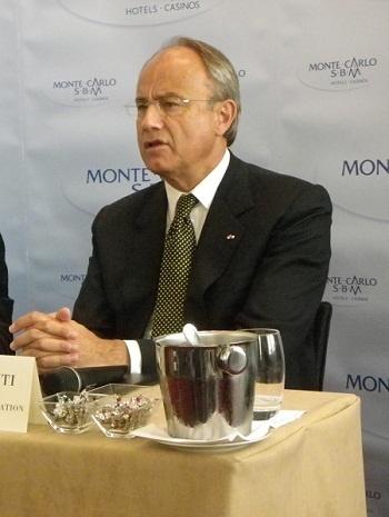 Jean-Luc Biamonti est le nouveau Président-Délégué de la SBM - Photo DR