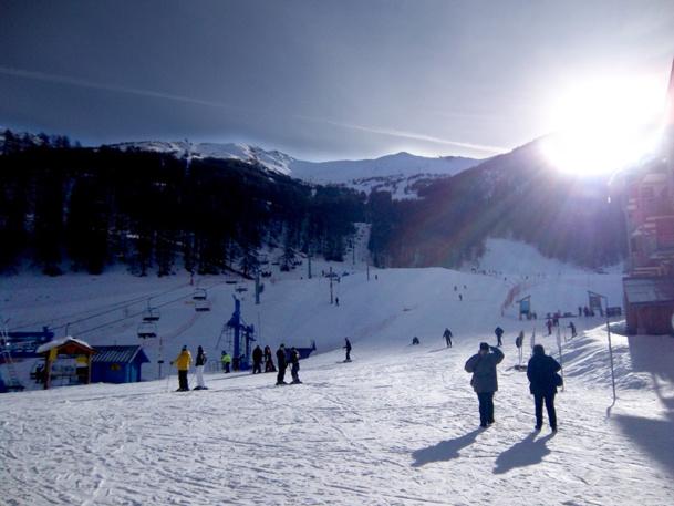 La station des Orres dans les Alpes du Sud  - Photo MC