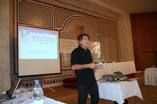 Lucien Salemi, président de Challenge Tourisme