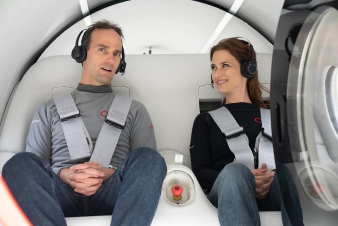 La SNCF partenaire de la technologie y est allée aussi de son commentaire - DR