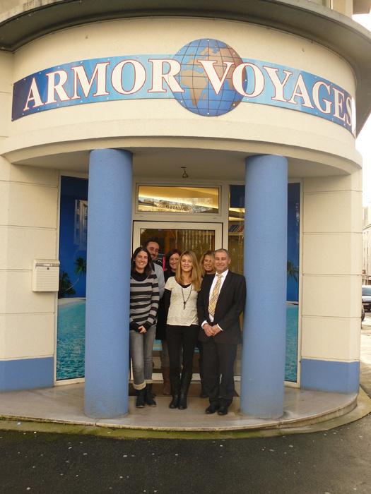 L'équipe d'Armor Voyages - DR