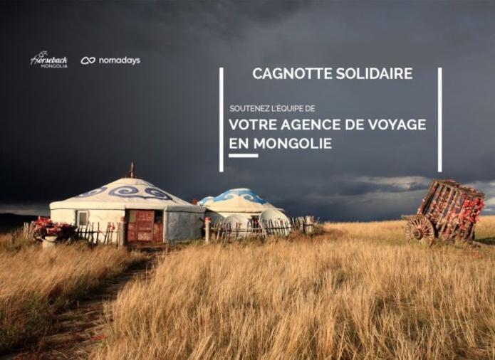 Crise Covid-19 : une cagnotte solidaire pour soutenir l'agence locale Horseback Mongolia