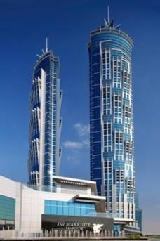 Le JW Marriott Marquis Dubai culmine à 355 mètres du sol - Photo DR