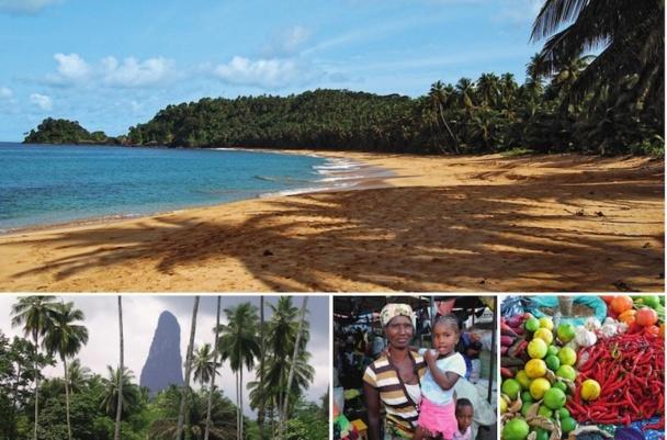 Sao-Tomé est une destination inédite sur le marché français. Un nouveau pari pour Héliades. DR