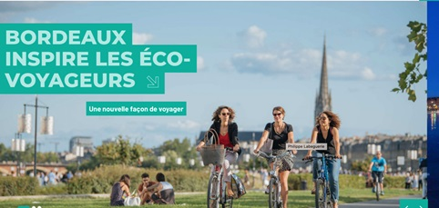 Site internet de l'Office de tourisme de Bordeaux, 21 septembre 2020