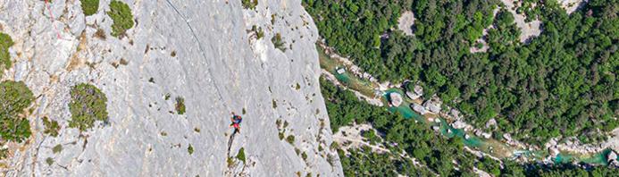 Les Gorges du Verdon : panorama grandiose, escalade et baignade / DR WePeaks
