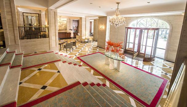 Orient-Express a investi 20 millions de dollars dans le bâtiment principal du Copacabana Palace à Rio de Janeiro - DR : Orient Express