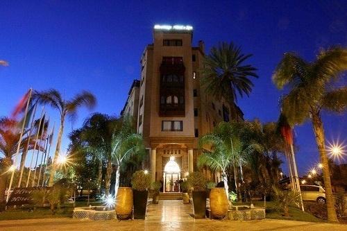 Situé à quelques pas de la place Jemaa el Fnaa, l'hôtel dispose de 85 chambres - Photo DR