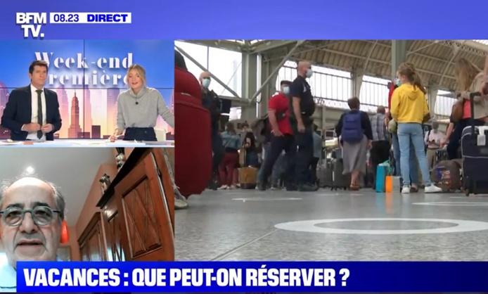 """""""Les clients ont la certitude d'être remboursés s'ils ne peuvent pas voyager"""" selon Jean-Pierre Mas - Capture Ecran"""
