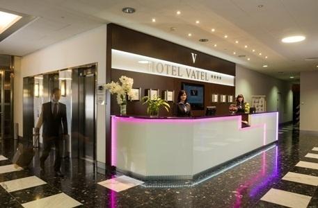L'hôtel sert de lieu d'application professionnelle pour les 120 étudiants de l'école Vatel en Suisse - Photo DR