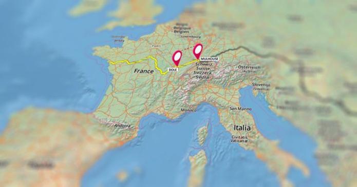 VNF lance un appel à idées pour trouver une nouvelle offre multi-étapes de tourisme à vélo le long des canaux du Rhône au Rhin entre Dole et Mulhouse - DR VNF