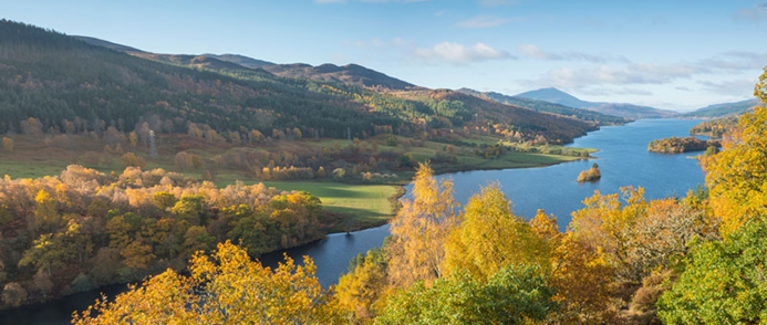 Queen's view et Loch Tummel - DR VisitScotland - Kenny Lam