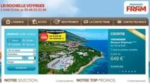 Les Ambassades Fram disposent de la logistique leur permettant de mettre en ligne leur propre site marchand sur Internet - Capture d'écran