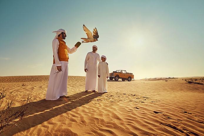 Désert Rub Al Khali ©Department of Culture and Tourism