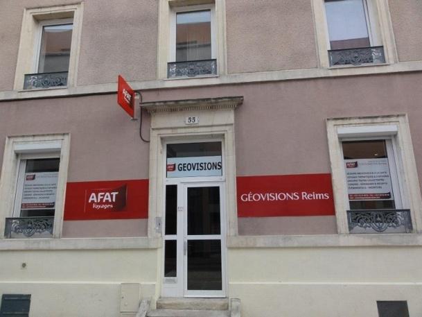 L'agence Géovisions Reims est installée en appartement et ne dispose donc pas de vitrine - Photo DR