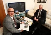 Denis Michaud et Jean Taibi sont les deux co-fondateurs de l'agence Géovisions Reims - Photo DR