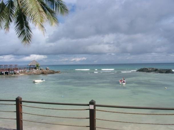La tempête tropicale qui a frappé l'archipel des Seychelles dimanche 28 et lundi 29 janvier 2013 est un phénomène rare à cette période de l'année dans cette région - Photo J.D.L.