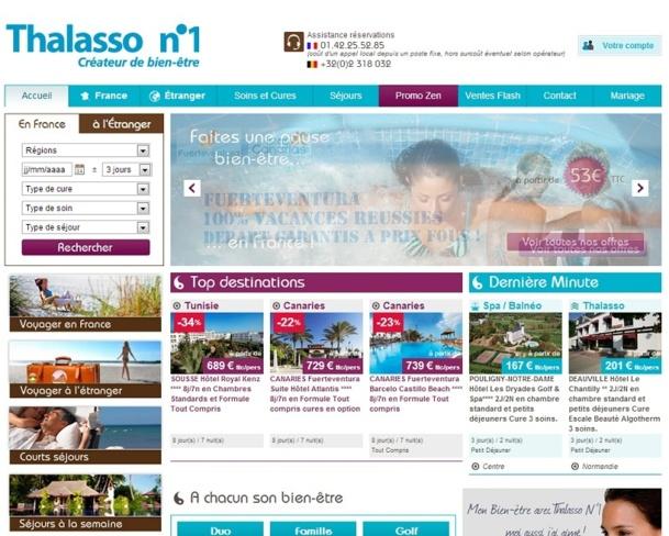 En 10 ans, Thalasso N°1 est devenu leader sur le créneau B2B « bien-être » - Capture d'écran