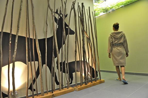 En 2012, Bagnoles de l'Orne créait l'évènement en ouvrant son B'O Spa thermal de 2 000 m2 et en lançant ses produits de soins à la pomme à cidre de Normandie - DR : Stéphane Maurice Socorpresse