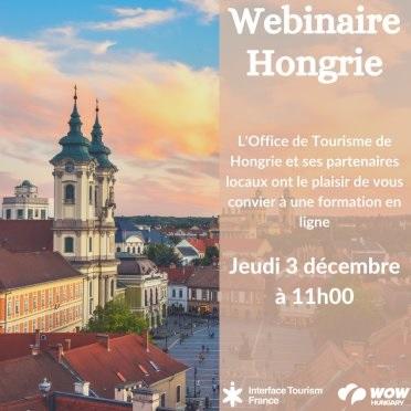 L'OT de Hongrie et ses partenaires donnent rendez-vous aux pros du tourisme français - DR