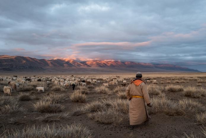 Avec la plus faible densité au monde, la Mongolie est aujourd'hui le pays de la distanciation sociale par excellence ! /crédit Beniamino Pisati