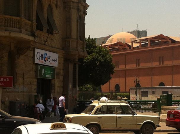 L'agence Cheops Travel est située au centre-ville du Caire, juste à côté de la place Tahrir - DR : Cheops Travel