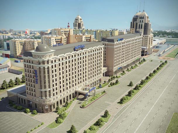 L'hôtel Park Inn by Radisson Astana disposera de 248 chambres - DR : Rezidor