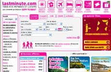 lastminute.com : nouveau calendrier des vols multi-compagnies