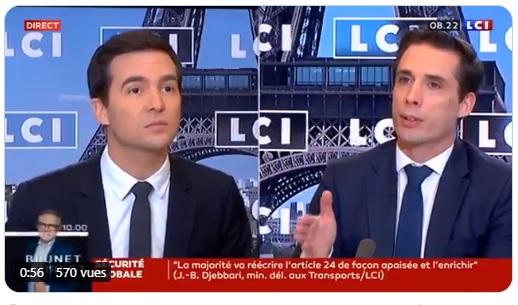 """J.-B. Djebbari : """"les Français peuvent réserver leurs billets de train et d'avion pour les fêtes"""""""