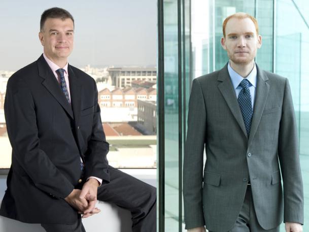 Pierre Salles,  PDG France et Olivier Cohn, DG France. - DR