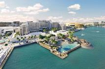 Vue aérienne © Hilton Abu Dhabi  Yas Island Resort