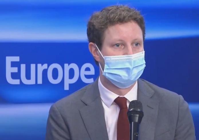 Clément Beaune, le secrétaire d'État chargé des Affaires européennes s'oppose à l'obligation de se faire vacciner pour voyager - Capture écran