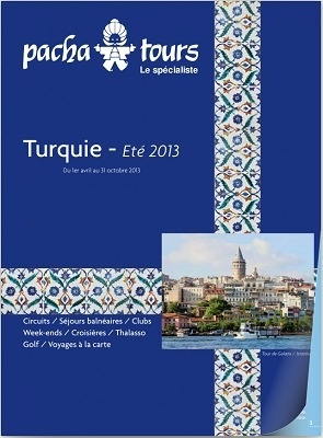 Le catalogue Printemps/Été 2013 de Pacha Tours est disponible dans 2 390 agences de voyages - DR