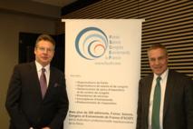 Mr Claude FEURER (1er Vice-Président) et Mr Thierry HESSE (Président)