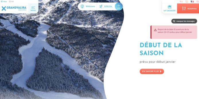 Andorre reporte l'ouverture de ses domaines skiables à janvier 2021. - DR