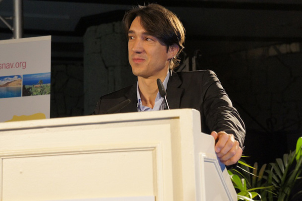 Invité au congrès du SNAV, Thomas Steinbrecher, directeur du secteur voyage chez Google France, a voulu rassurer à propos de Google Hotel Finder : il n'entrerait pas dans ses intentions (pour l'instant ?) de rendre possible la réservation d'hôtels - DR : CE