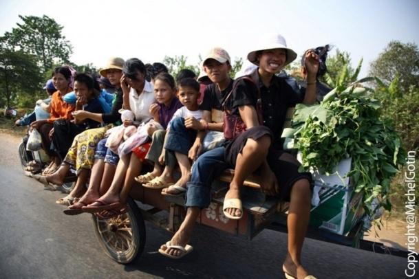 Le Cambodge est la 4e destination ouverte par Double Sens après le Bénin, le Burkina Faso et l'Equateur - Photo Michel Gotin