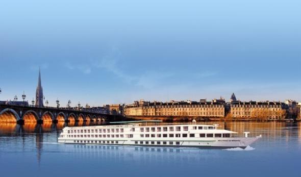 Le MS Cyrano de Bergerac affiche une capacité de 180 passagers sur 3 ponts - Photo DR