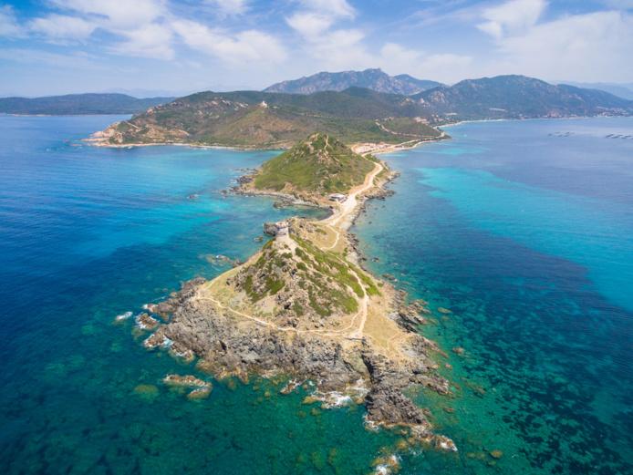 Vue aérienne des Sanguinaires (Ajaccio) /crédit DepositPhoto